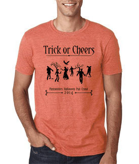 Pintmeisters Trick or Cheers T-Shirt